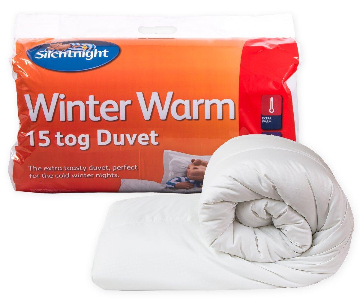 Silentnight Winter Warm 15 Tog Duvet, Single: Amazon.co.uk ...