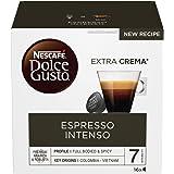 Nescafé Dolce Gusto Espresso Intenso Caffè Espresso 6 confezioni da 16 capsule (96 capsule)