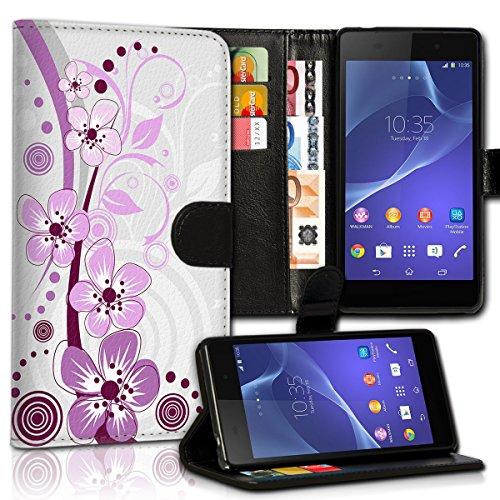 Wallet Book Style Flip Handy Tasche Case Schutz Hülle Schale Motiv Etui für Apple iPhone 6 / 6S - Variante UMV27 Design8 Design 9