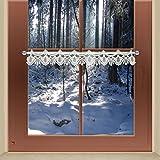Scheibengardinen von kollektion.MT Feenhaus-Spitzenkante Seldi 9 cm weiß Traditionelle Plauener Spitze Feenhaus-Spitzengardine