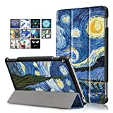 DETUOSI Huawei Mediapad M3 Lite 10'' Custodia Case Slim Folio in PU Pelle Case Cover Custodia per Huawei Mediapad M3 Lite 10 Pollici Tablet (con Funzione of Auto Wake/Sleep)