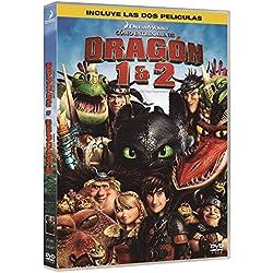 Pack: Cómo Entrenar A Tu Dragón 1+2 [DVD]