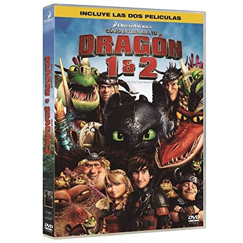 Como Entrenar A Tu Dragon 1,2 - Duo [DVD] 8