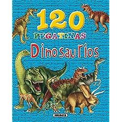 120 pegatinas de dinosaurios