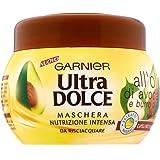 Garnier Ultra Dolce all'Olio di Avocado e Burro di Karité Maschera per Capelli Ricci o Mossi, 300 ml