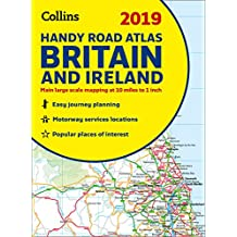 2019 Collins Handy Road Atlas Britain (Collins Road Atlas)
