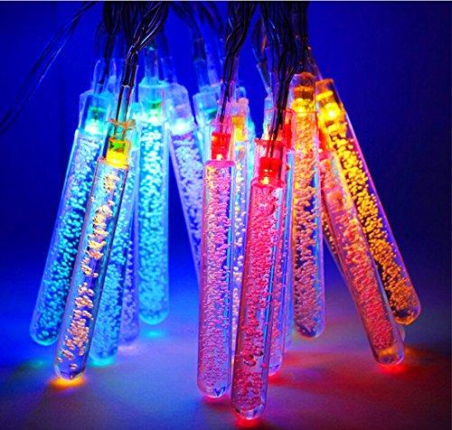 PINWHEEL Ghiaccio Luce della Stringa 20 LED Impermeabile Fata Icicle Luci LED Natalizie per Indoor & Outdoor Garden House Yard Patio Party Finestra di nozze per le vacanze Decor