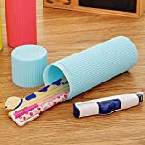 #6: OZOY New And Stylish Travel Portable Toothbrush And Toothpaste Case Bathroom Accessories (PACK OF 2)