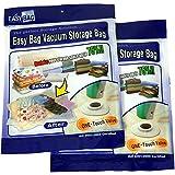 Easy Bag Vacuum Storage Bags - Set Of 2 - Large (90 X 86cm)