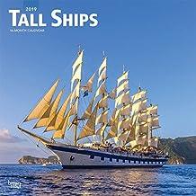 Tall Ships - Segelschiffe 2019 - 18-Monatskalender (Wall-Kalender)