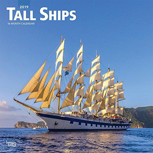 Tall Ships - Segelschiffe 2019 - 18-Monatskalender: Original BrownTrout-Kalender [Mehrsprachig] [Kalender] por Inc. Browntrout Publishing