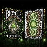 'Bicycle Fireflies, Carte da Poker, Playing Cards, Carte da gioco + 3' Look & FEEL della copertura...