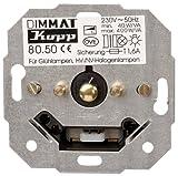 Kopp 805000009 Sensor-Dimmer Dimmat (Phasenanschnitt) RL, Sockel