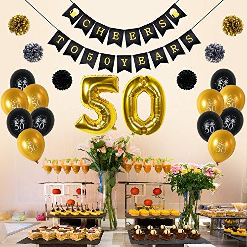 Addobbi Festa 50 Anni Uomo
