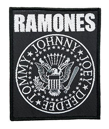 Ramones-band (The Ramones Seal Logo Aufnäher The Ramones Patch - Gewebt & Lizenziert !!)