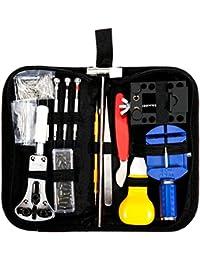 Baban Uhrenwerkzeug Set 147tlg Uhrmacherwerkzeug Uhr Werkzeug Tasche Reparatur Watch Tools in schwarze Nylontasche