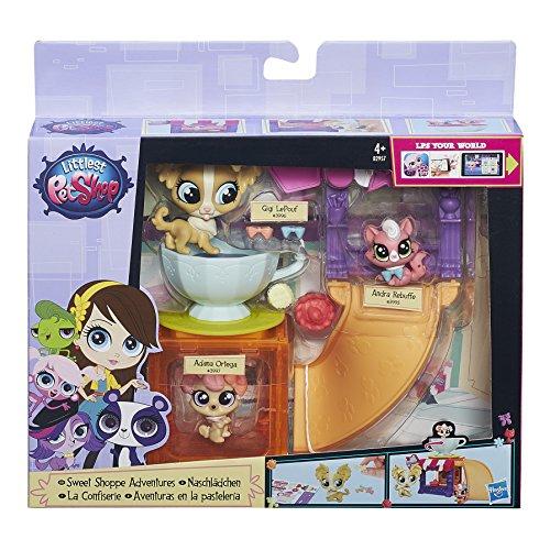 Hasbro A7642EU6 - Littlest Pet Shop Tierchen Spielwelt - Sortiment
