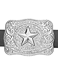 Iced Out Bling WESTERN STAR Ceinture