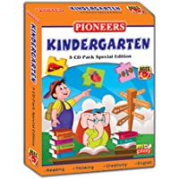 Pioneers Kindergarten 5 CD Pack : Age 4-7Yrs : My Body Parts | Human Body | Picture Dictionary | People | Public Places | Universal Syllabus