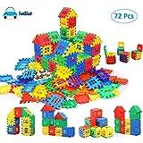 FunBlast Building Blocks for Kids (Set of 72 Pcs) Big Size House Building