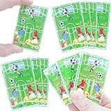 German Trendseller® - 12 x Kinder - Fussball - Spiele Mix ┃ NEU ┃ Kindergeburtstag ┃ Mitgebsel ┃ 12 Stück