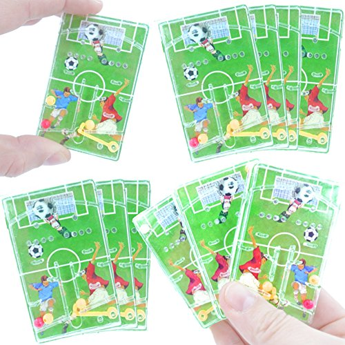 German Trendseller 12 x Kinder - Fussball - Spiele Mix ┃ NEU ┃ Kindergeburtstag ┃ Mitgebsel ┃ 12 Stück