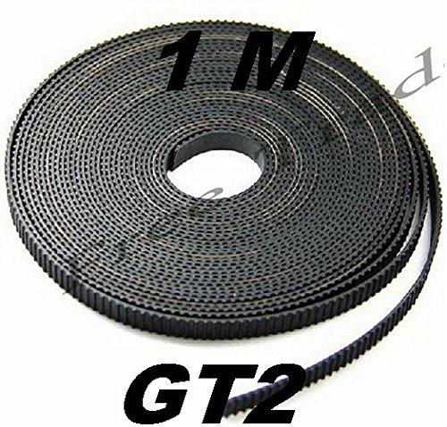 1metre imprimante 3d Gt2–6mm Ceinture. ouvert Ceinture ouverte Timing Mendel Prusa Flashforge