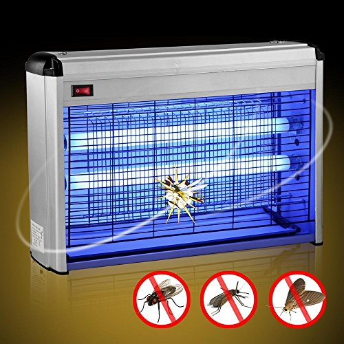 Yaheetech 30w Restaurant Industrial Electric Fly Insect Bug Killer Zapper UV 2 x 15w