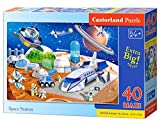 Castorland B-040230-1 Space Station Puzzle, 40 Teile Maxi