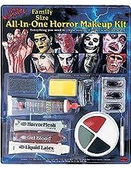 Familiengröße Horror Make Up Kit - Zubehör