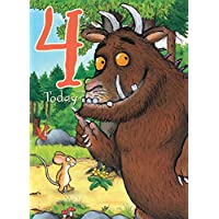 "The Gruffalo GR009""Age 4"" Greeting Card"