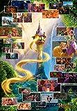 TENYO (dg2000–616) Disney Rapunzel Szene Collection Puzzle (2000Teile)