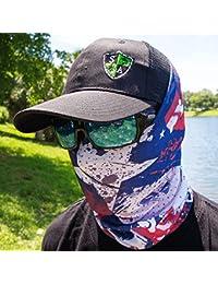 Bandala SA Company SA Fishing Face Shields de calidad, pañuelo multifunción textil con SPF 40, máscara…