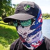 SA Company Écharpe-tube/foulard/bandana/masque polyvalent Plus de 40motifs disponibles En tissu Indice de protection solaire 40, Texas State