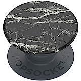 PopSockets: PopGrip Basic - Support et Grip pour Smartphone et Tablette [Top Non Interchangeable] - Mod Marble Black