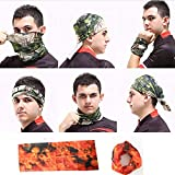 #2: Tube Bandana Bikers Head/Face/Mask/Kneck Multifunctional Scarf Bandana