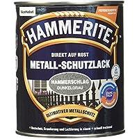 Hammerite 5087609martillado barniz Efecto Gris Oscuro 750ml