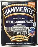 HAMMERITE 5087609 Hammerschlaglack Effektlack Dunkelgrau 750 ml