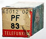 TV-Röhre PF83 Telefunken m. Raute (2 ID1395