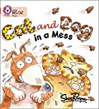 Cat and Dog in a Mess: Band 02A/Red A (Collins Big Cat Phonics)