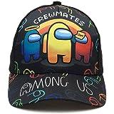 MHLYY Among Us Gorra de Beisbol, Ajustable Unisex Sombrero Deportivo Cap Casual, Cool Moda Sombrero de Sol Al Aire Libre para