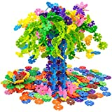LIGHTDESIRE Snow Flakes Building Blocks Puzzle Toys [500 Piece] Shape Interlocking Souptoys Toy - Educational Gift For Boys And Girls