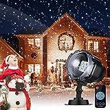 Proyector Navidad LED, Luces de Navidad con Control Remoto Impermeable...