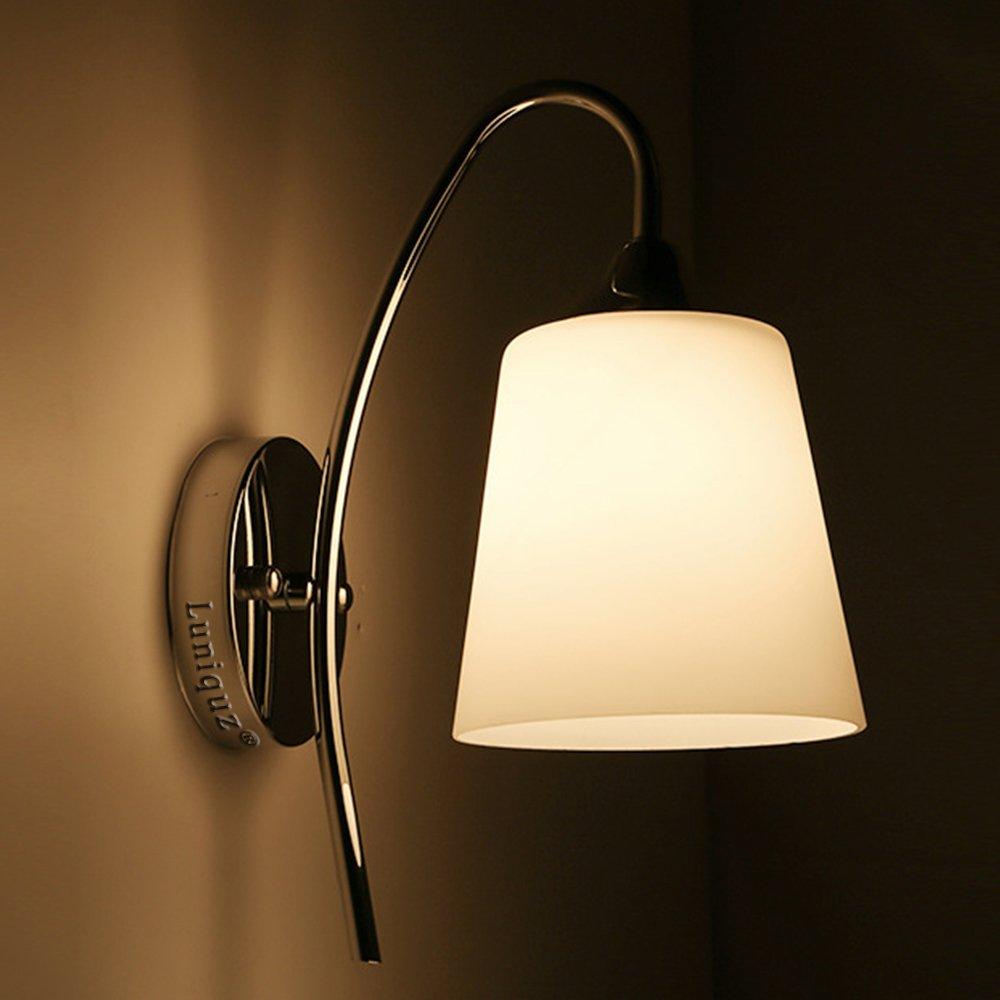 Luniquz LED Wandleuchte für Schlafzimmer Flur Nachttisch   eBay