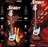 Harley Storm jb20trdpack Kit-Bass In Rot