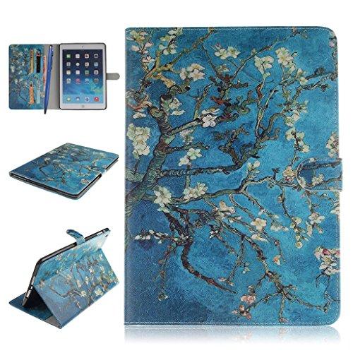 iPad Mini 1/2/3 Funda,Careynoce Atrapasueños León Tigre Pattern Flip PU Cuero Carcasas Funda Case Cover para Apple iPad Mini 1 iPad Mini 2 iPad Mini 3 (7.9 pulgada) - Albaricoque