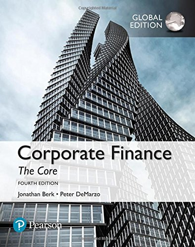 Corporate Finance: The Core, Global Edition