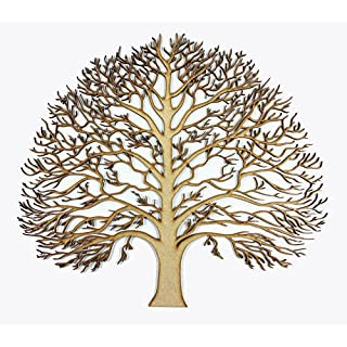 Beautiful Large Laser Cut Tree - MDF Craft and Art Centrepiece