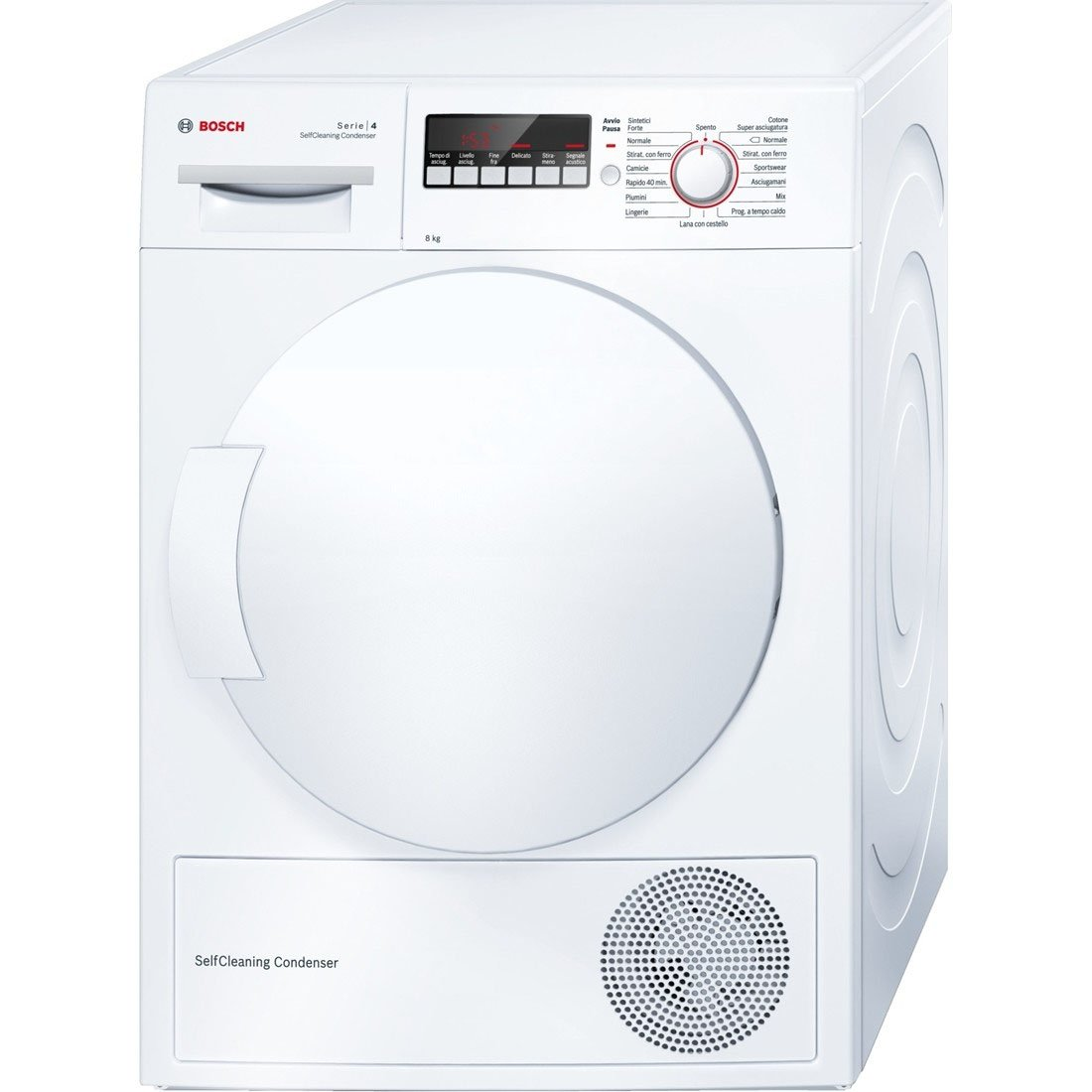 Bosch Maxx 4 WTW83218IT freestanding Front-load 8kg A++ White tumble dryer - tumble dryers (Freesta