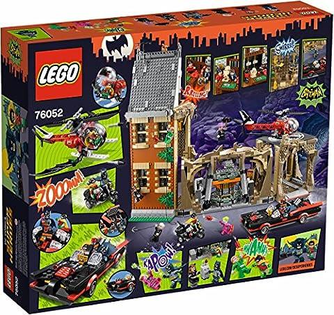 LEGO 76052–Super Heroes Batman Classic Bathöhle